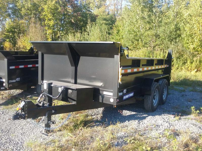 2022 Sure-Trac 82 IN x 12 HD 14K Low Profile Dump Trailer