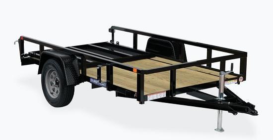 2022 Sure-Trac ST7212TA-B-035 Utility Trailer