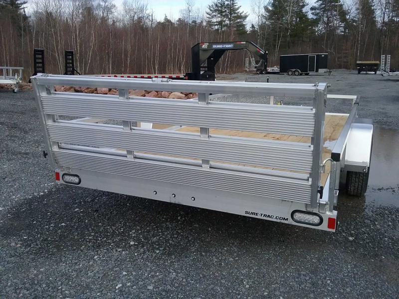 2021 Sure-Trac 7 X 14 Aluminum Tube Top Utility  3K Idl