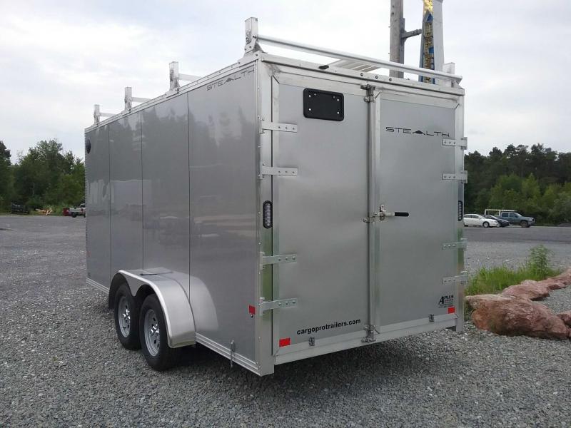 2021 Alcom-Stealth C7X16-IF Enclosed Cargo Trailer