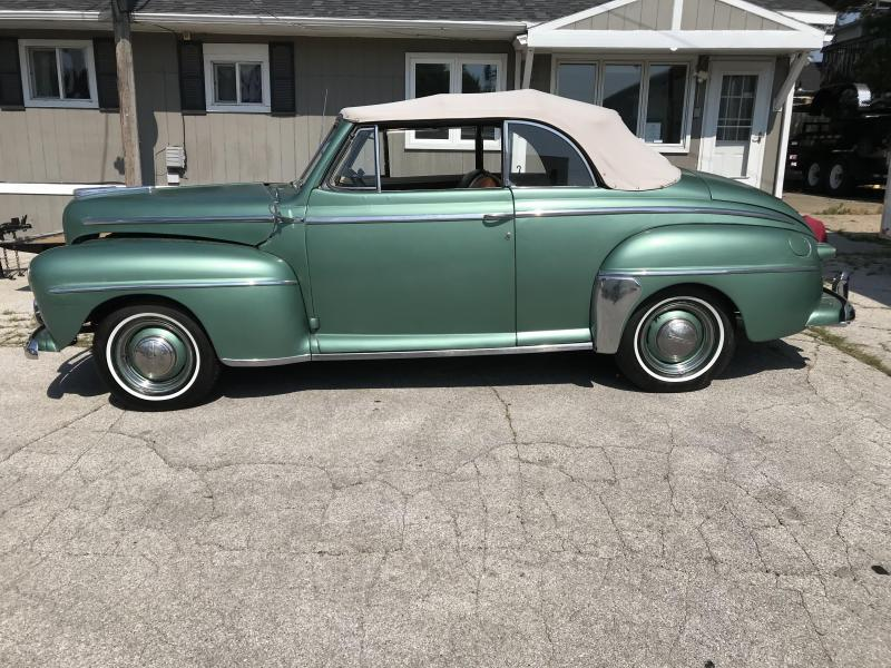 1948 Ford DELUXE CONVERTIBLE Car