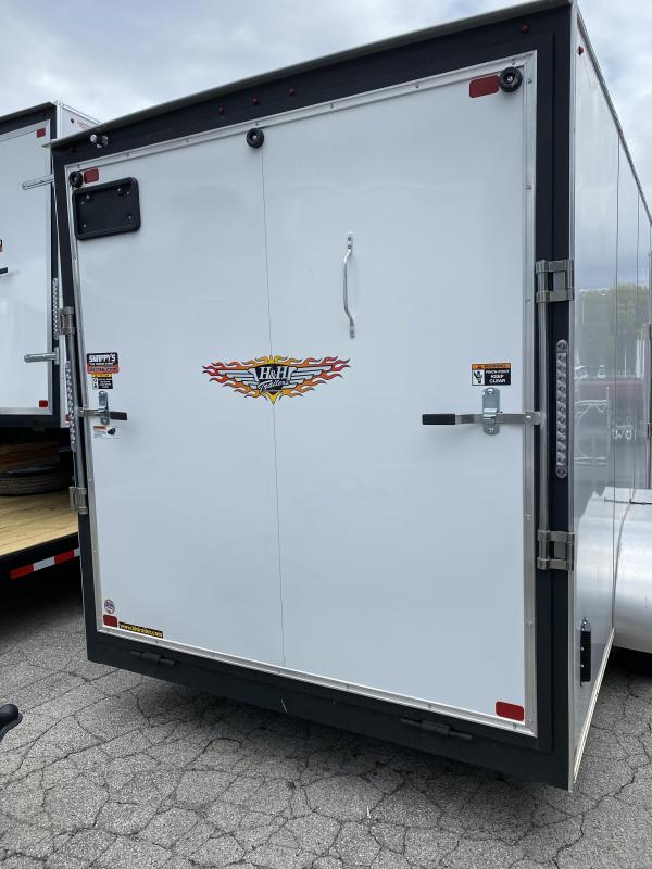 2021 H&H Trailers H84TFTV-100 Enclosed Cargo Trailer