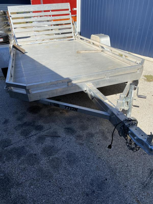 2012 Aluma FLAT BED Utility Trailer
