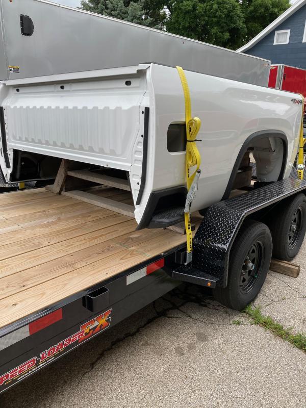 2020 Chevrolet Silverado Truck Bed