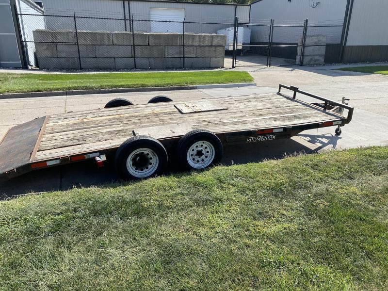 2008 Sure-Trac FLAT BED Flatbed Trailer