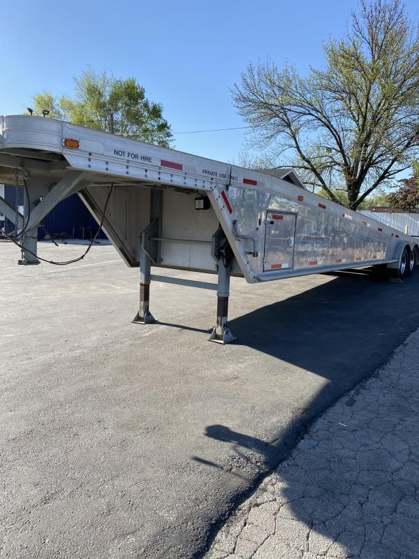 1989 Featherlite Gooseneck Flatbed Trailer