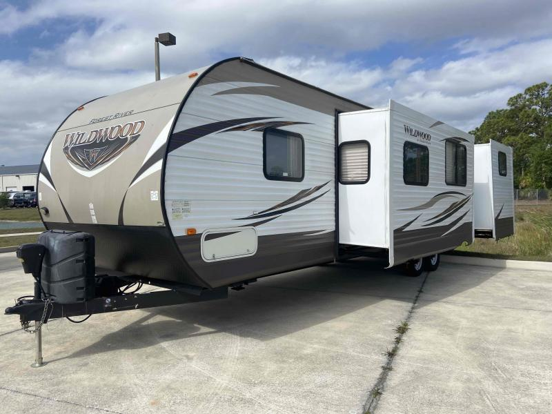 2016 Forest River, Inc. WILDWOOD 31KQBTS