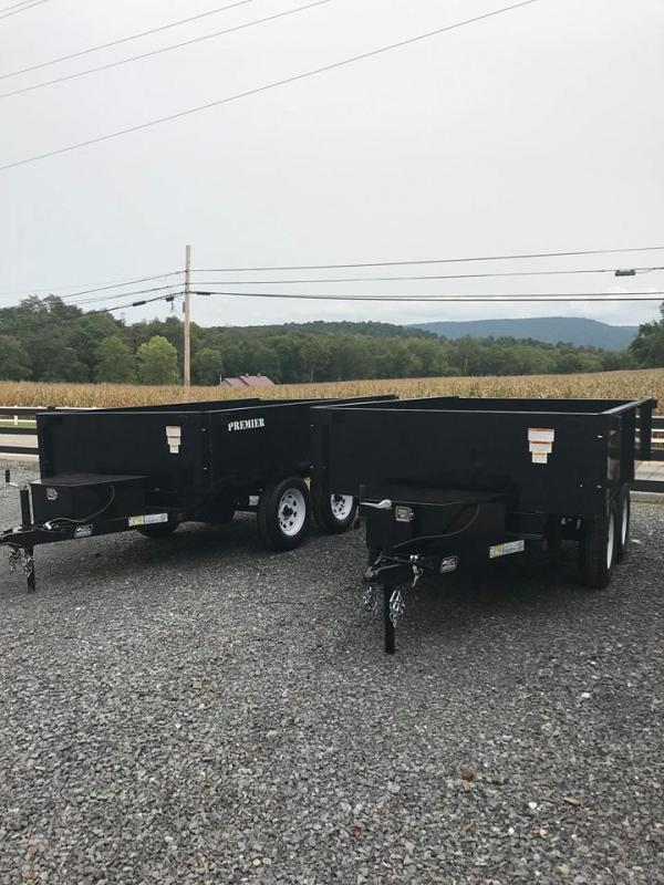 2021 Premier Trailers Inc. HD102 Dump Trailer