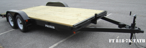 2019 Premier Trailers Inc. FT162 Flatbed Trailer