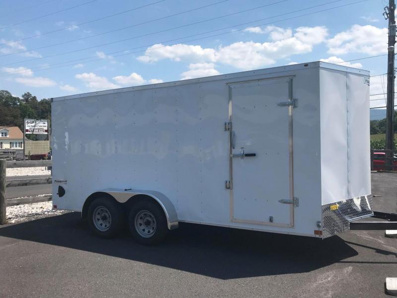 2021 Haulmark PP7x16 Enclosed Cargo Trailer