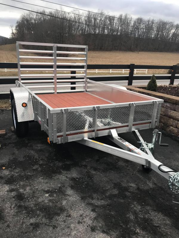 2021 Compliment 5x8 Skooter E Utility Trailer