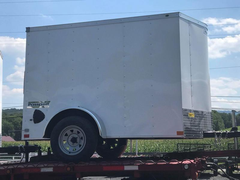 2021 Haulmark PP5x8 Enclosed Cargo Trailer