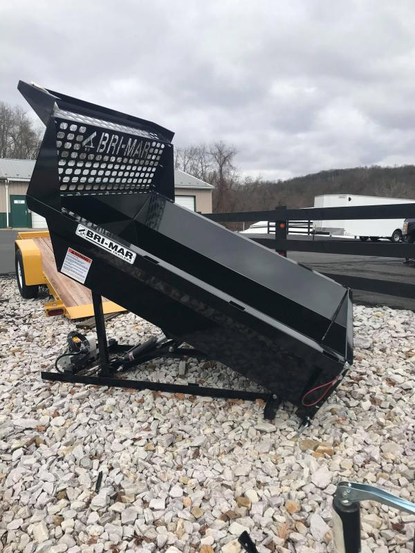 2021 Bri-Mar Dump Insert 6' Dump Trailer