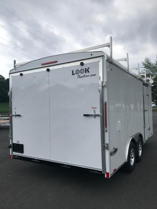2021 Look Trailers Element Roundtop Enclosed Cargo Trailer