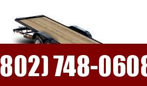 2021 Kaufman Trailers 20' Wood Floor Full Tilt Single Car / Racing Trailer 8000K GVW
