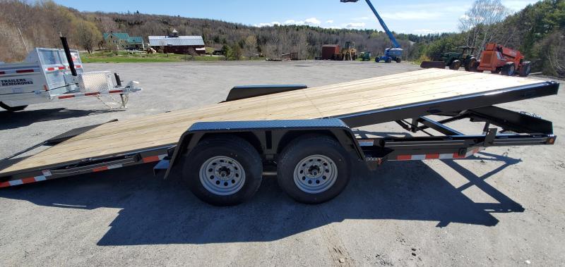 2021 Kaufman Trailers 20' Wood Floor Full Tilt Single Car / Racing Trailer 8K GVW