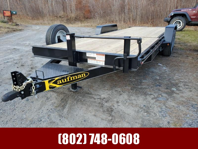 2020 Kaufman Trailers Deluxe Tilt Deck 17k GVW 22 Equipment Trailer