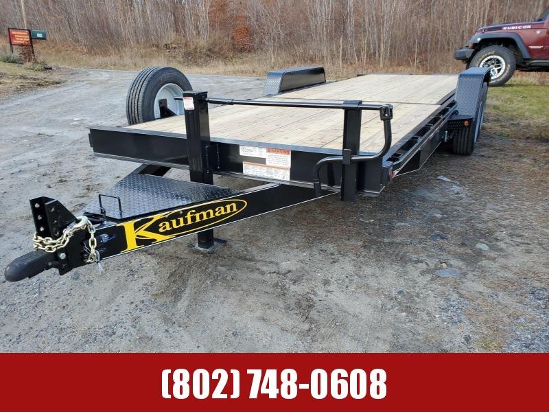 2021 Kaufman Deluxe Tilt Deck 17k GVW 22 Equipment Trailer