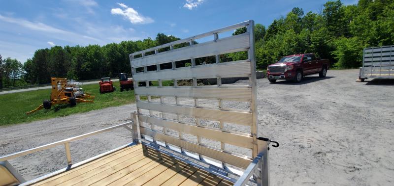 2022 Rance Aluminum 6.5X14 RRU6514SA Utility Trailer Aluminum Wheels, Side Ramps