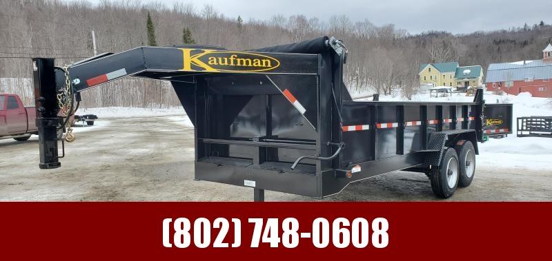 2021 Kaufman Trailers 2021 Kaufman Gooseneck Dump Trailer 7x16 17kGVW Dump Trailer