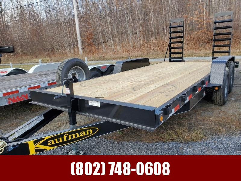 2021 Kaufman Trailers Equipment Trailer 20' 15k GVW Equipment Trailer