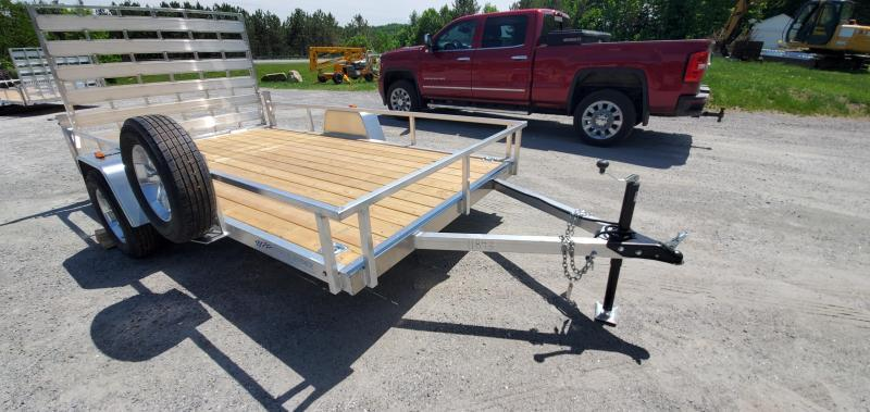 2022 Rance Aluminum 6.5X12 RRU6512SA Utility Trailer Aluminum Wheels