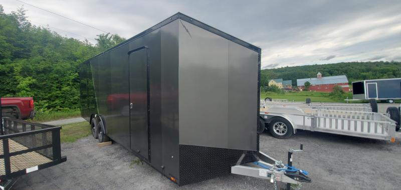 2022 Lightning Trailers 2022 Lightning All Aluminum 8.5x24 car hauler w/ blackout & extra height Car / Racing Trailer