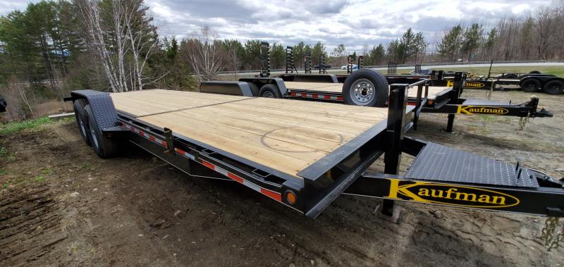 2021 Kaufman 15k GVW Tilt Deck Equipment Trailer 22'