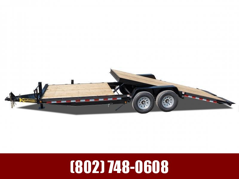 2021 Kaufman Trailers 15k GVW Tilt Deck Equipment Trailer 22'