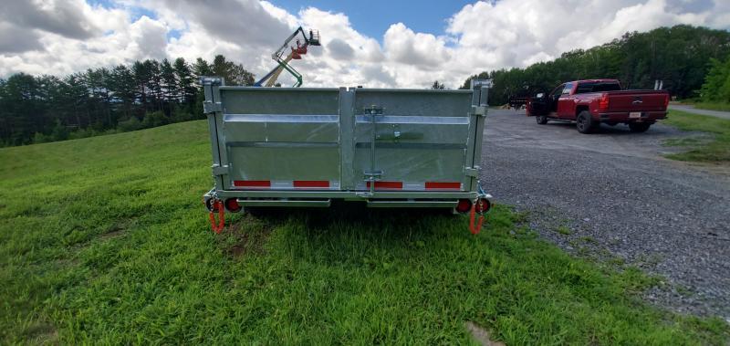 2021 N&N Trailers 6x12 Galvanized 10K LB GVW  Dump Trailer