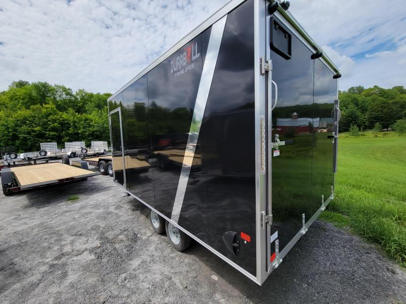 "2022 Durabull Trailers 101x14 multisport +12"" ht fuel door tandem axle Enclosed Cargo Trailer 6k GVW"