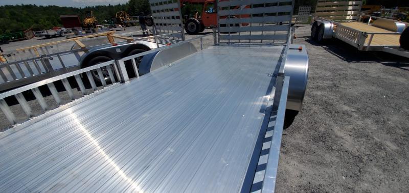 2022 Rance Aluminum 6.5X16 RRU6516TA2 Utility Trailer Aluminum Plank, Wheels, Removeable Sideboard
