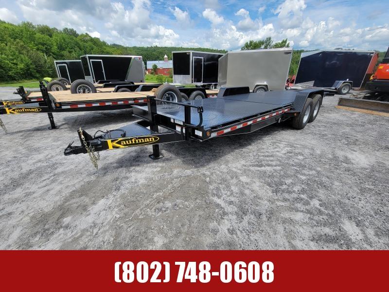 2021 Kaufman 15k GVW STEEL Tilt Deck Equipment Trailer 22'