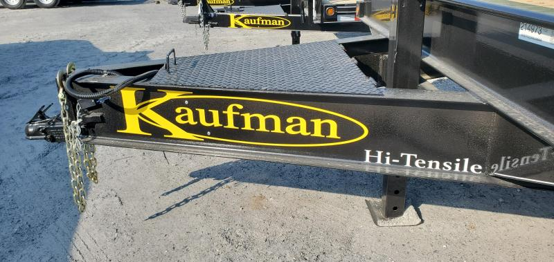 2021 Kaufman 8x22 14k GVW Deckover Equipment Trailer
