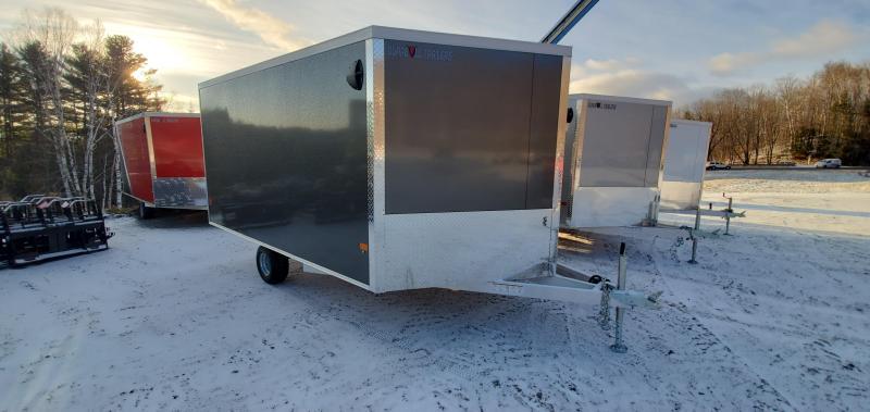 2022 Durabull Trailers Multisport 101X12 SA Snowmobile Trailer EXTRA HEAD HEIGHT