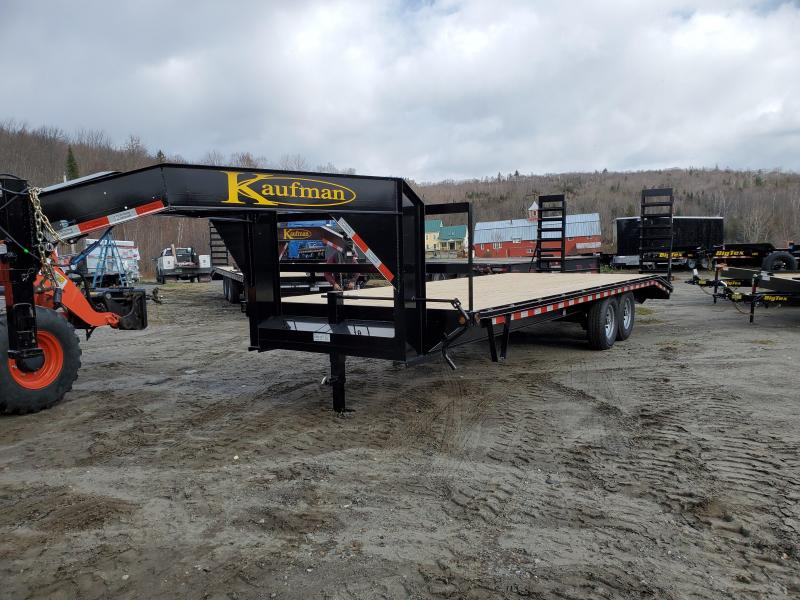 2020 Kaufman Trailers Deckover Gooseneck Deluxe 17k GVW Equipment Trailer