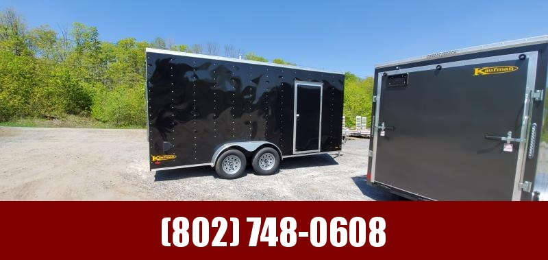 2020 Kaufman Trailers 7x16 Enclosed Cargo Trailer