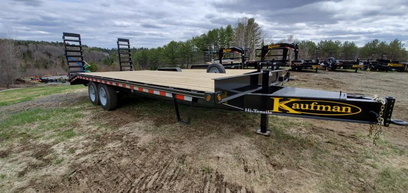 2021 Kaufman Trailers 8x24 Deckover Equipment Trailer 16000GVW