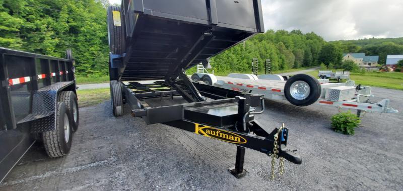 2021 Kaufman Trailers 7X16 16K FSSLP-8K-16D Deluxe Dump Trailer