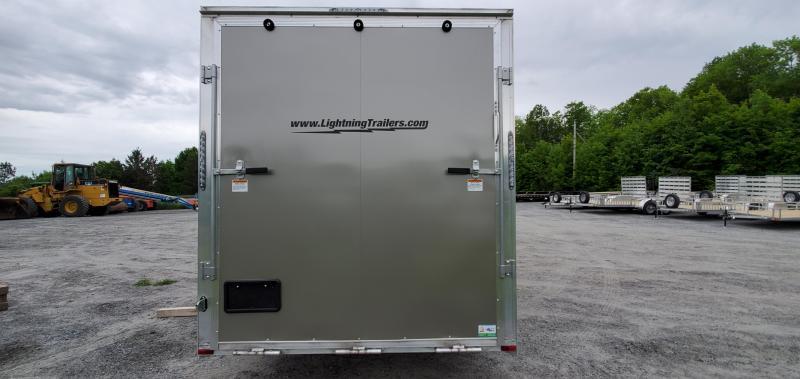 2022 Lightning Trailers 7x14 all aluminum Enclosed Cargo Trailer