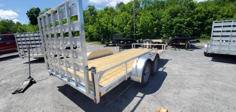 2022 Rance Aluminum 6.5X16 RRU6516TA2 Utility Trailer Removeable Sideboard