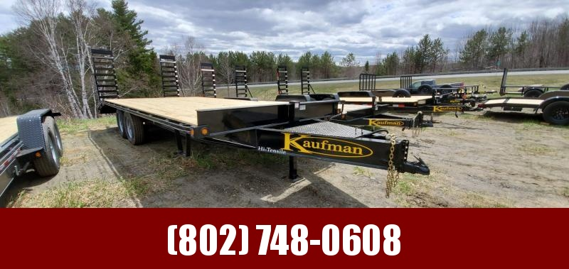 2020 Kaufman Trailers 8x22 14k GVW Deckover Equipment Trailer