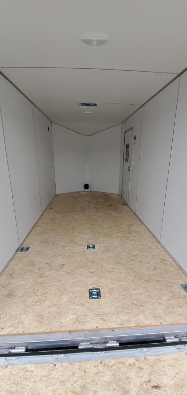 2022 Lightning Trailers 7x14 all aluminum ramp door Enclosed Cargo Trailer