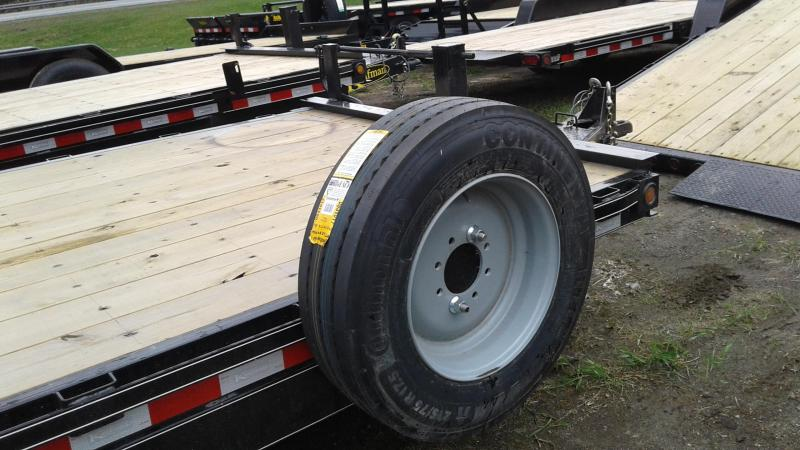 2020 Kaufman Trailers 17k GVW Tilt Deck Equipment 22'