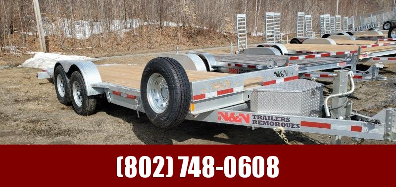 2020 N and N Trailers TD20G14k Tilt Equipment Trailer