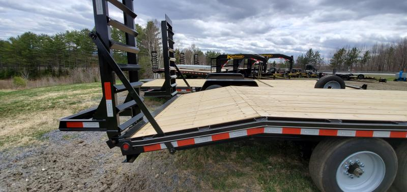 2020 Kaufman Trailers 8x22 Deckover Equipment Trailer