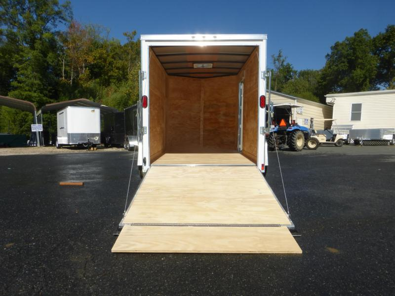 Diamond Cargo 6X10 Enclosed Cargo Trailer with Ramp