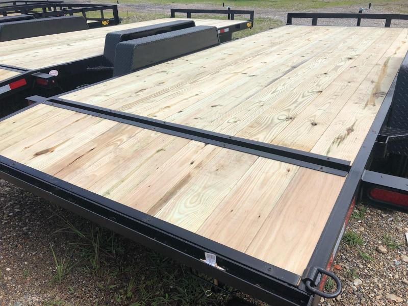 MCT 7' x 18' Wood Deck Car Hauler 7K