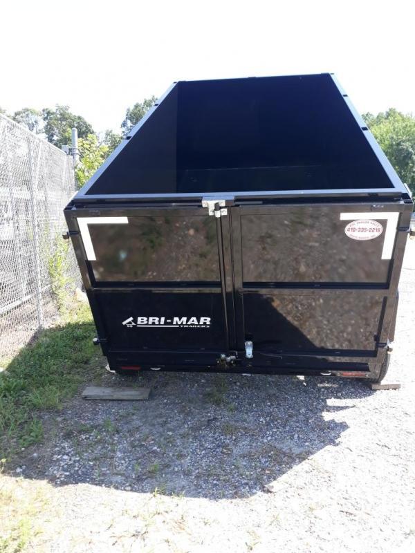 """Bri-Mar 6' x 12' x 44"""" Dump Trailer w/ High Sides 10K"""