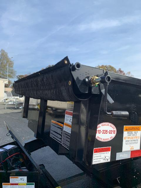 Big Tex 7' x 14' Trailers 14LP-14 Dump Trailer 14K